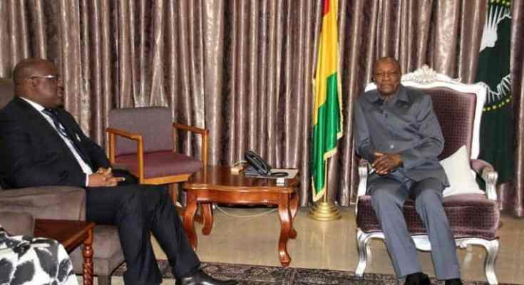Guinée : l'opposant congolais Felix Tshisekedi reçu par Alpha Condé - Le  courrier du soir