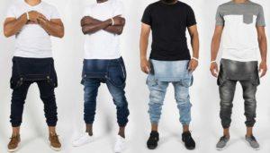 Edoniijeans : jean sarouel pour hommes